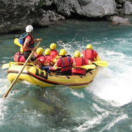 Wildwassersport Rafting Kajak