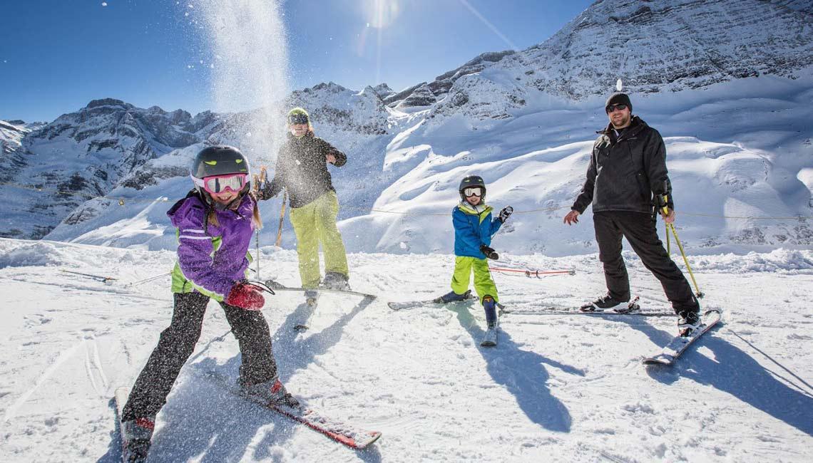 Family Ski Hautacam Gavarnie Gèdre