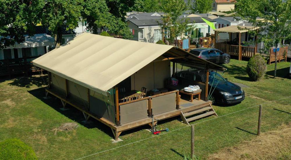 Lodge avec terrasse