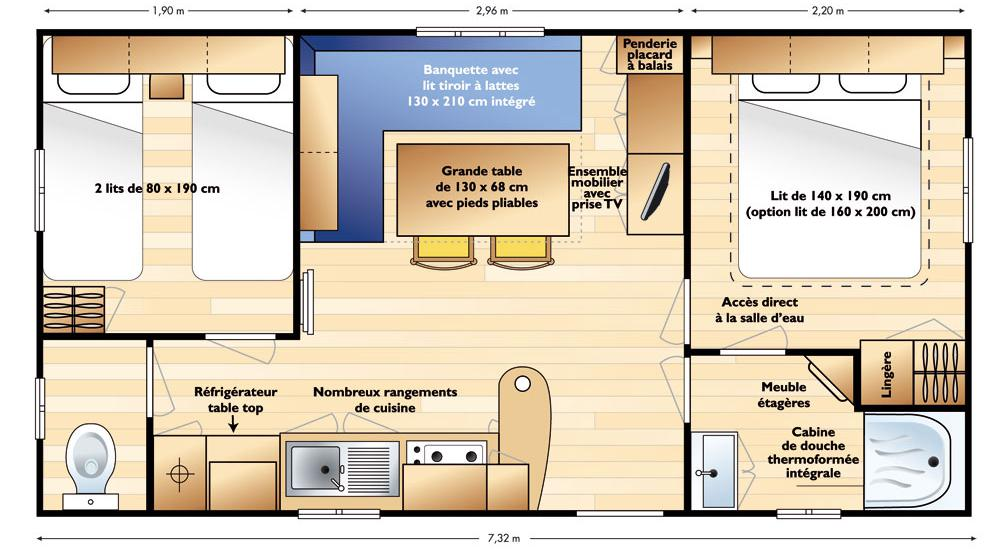 Plan mobil-home