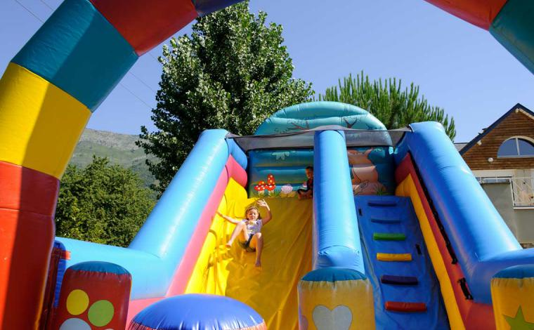 Games kids inflatable structure